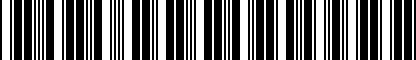 Barcode for DRG002517